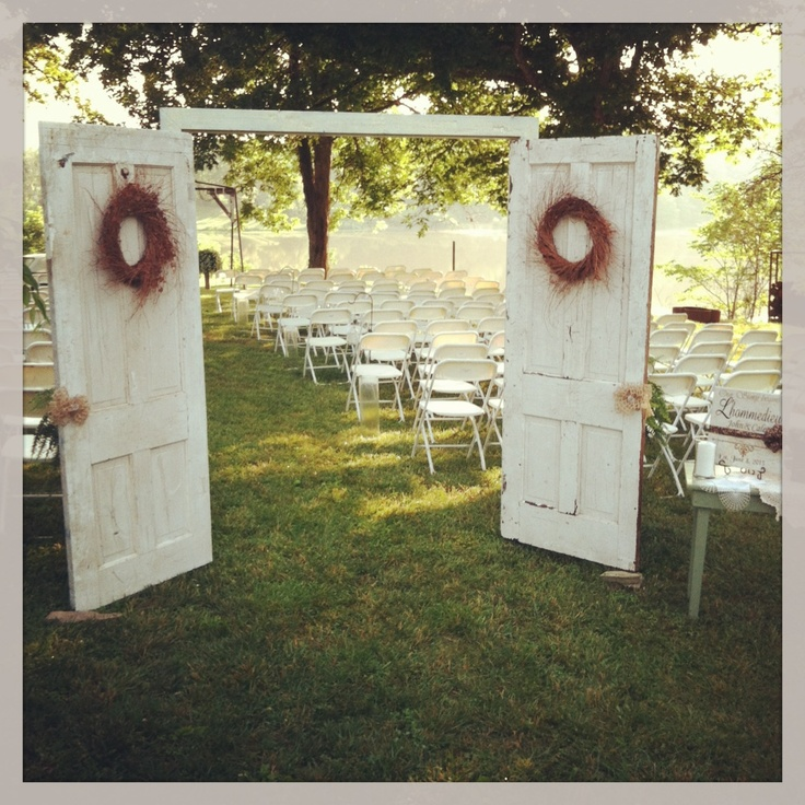 Cute Outdoor Wedding Ideas: Utterly Brilliant Outdoor Wedding Ideas!