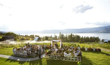 Summerhill Pyramid Winery Wedding Ceremony Reception Venue Locations In Kelowna Bc