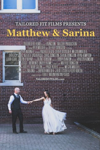 Wedding Film Poster - Lindon House Wedding - Photo taken by the Laurel Packing House in Kelowna