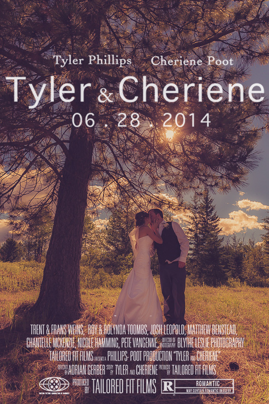 Vernon Wedding Videographer Armstrong Outdoor Wedding at Country Farm - Tyler & Cheriene