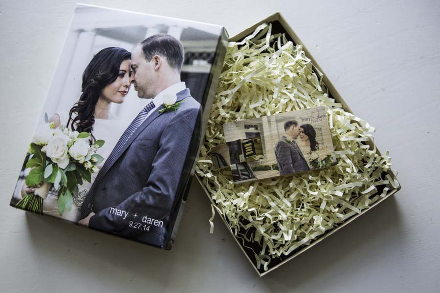 Wedding Film USB Drive & Box