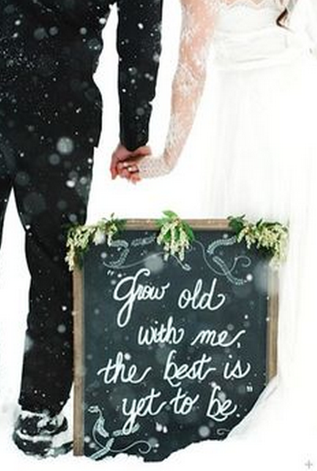 Winter Wedding Creative Wedding Photography Props