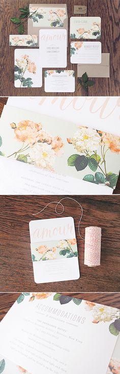 Wedding Invitation Inspiration - Creative Wedding Invitations and Stationary