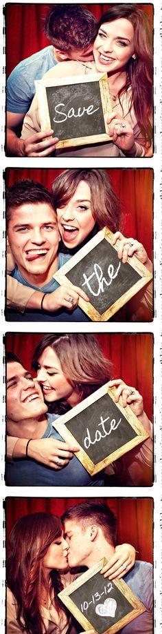 wedding photobooth invitation ideas