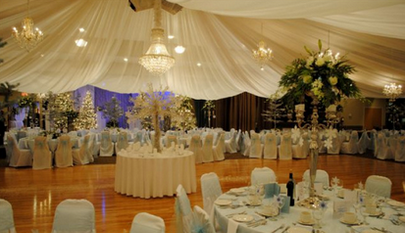 Columbo Lodge Tent Wedding Reception Location