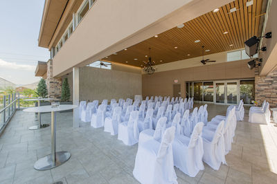 Hotel 540 Outdoor Wedding Ceremony and Outdoor Wedding Reception Venue Kamloops