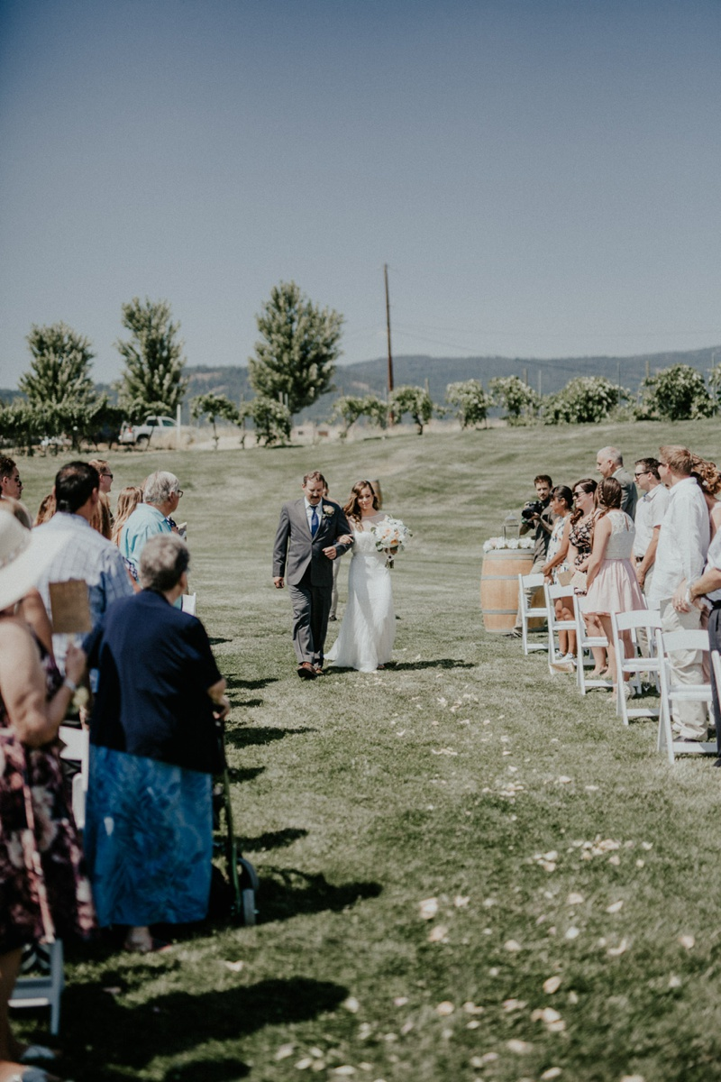 Laurel Packing House + Off The Grid Organic Winery Wedding by Tailored Fit Photography